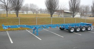 DBN-3400 Four Axle Feather Weight Chassis