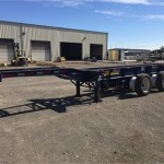 2015 CHEETAH 20-40 TRI-AXLE CITY CHASSIS